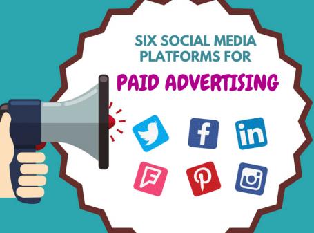 Six Social Media Platforms for Paid Advertising Main Image