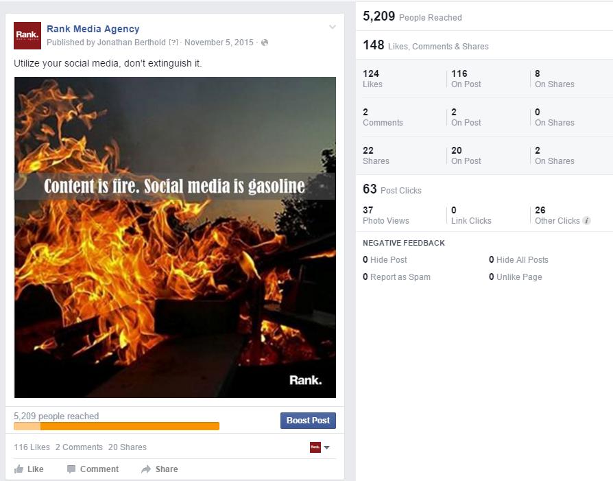 Social Media is Gasoline