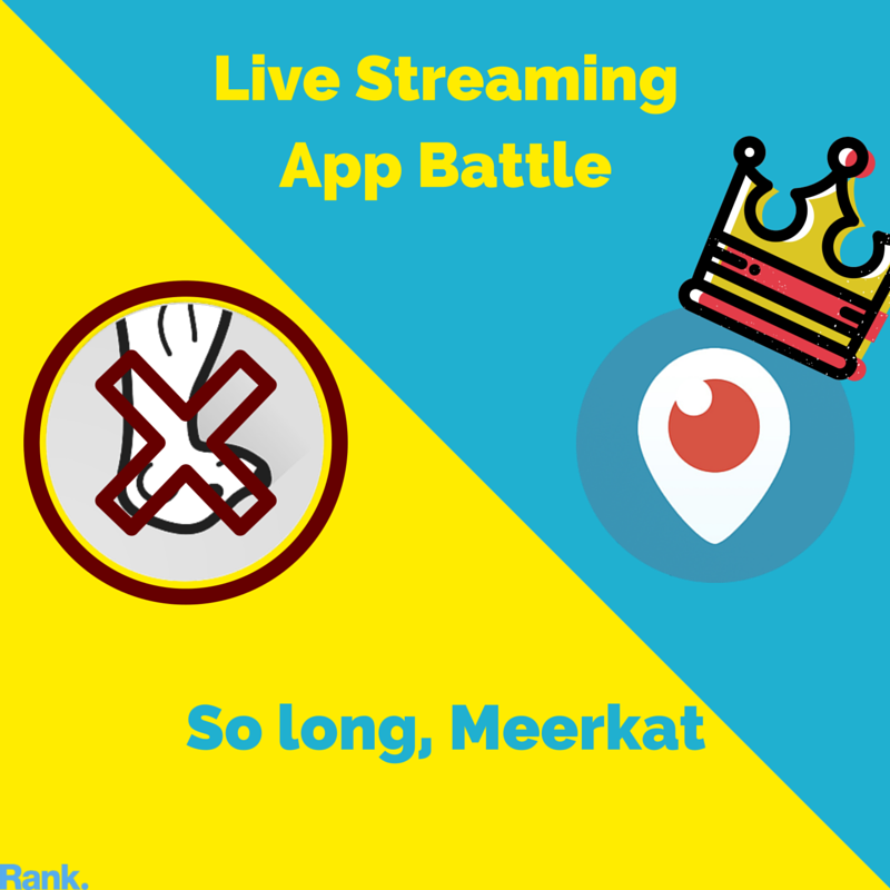 Meerkat Ditches Live Streaming