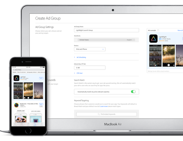Apple Search Ads Platform