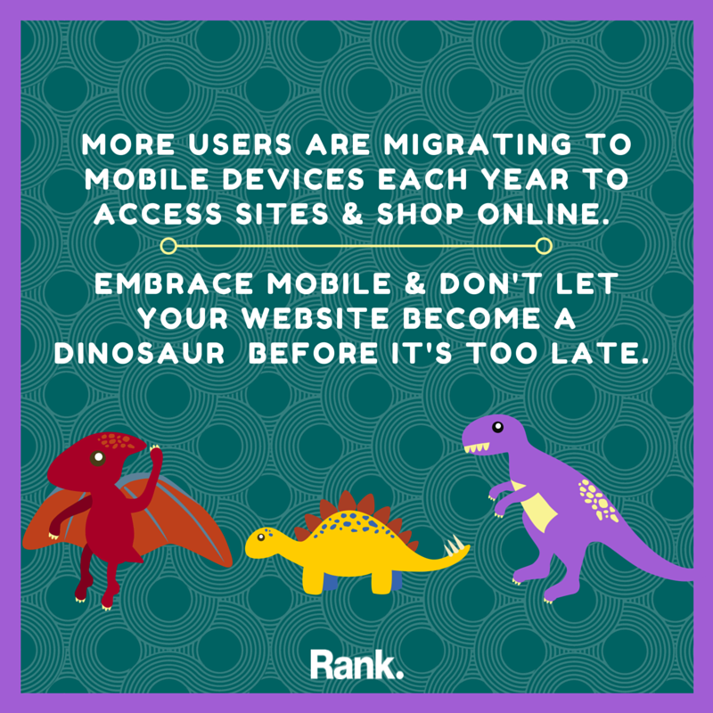 Mobile Websites and Dinosaurs