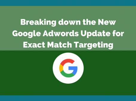 Breaking down the New Google Adwords Update for Exact Match Targeting